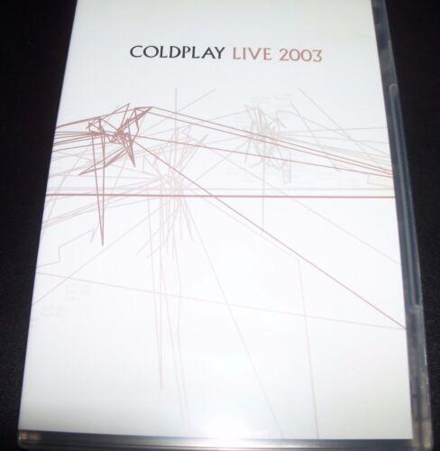 1 of 1 - Coldplay Live 2003 (Australia PAL All Region) DVD – Like New