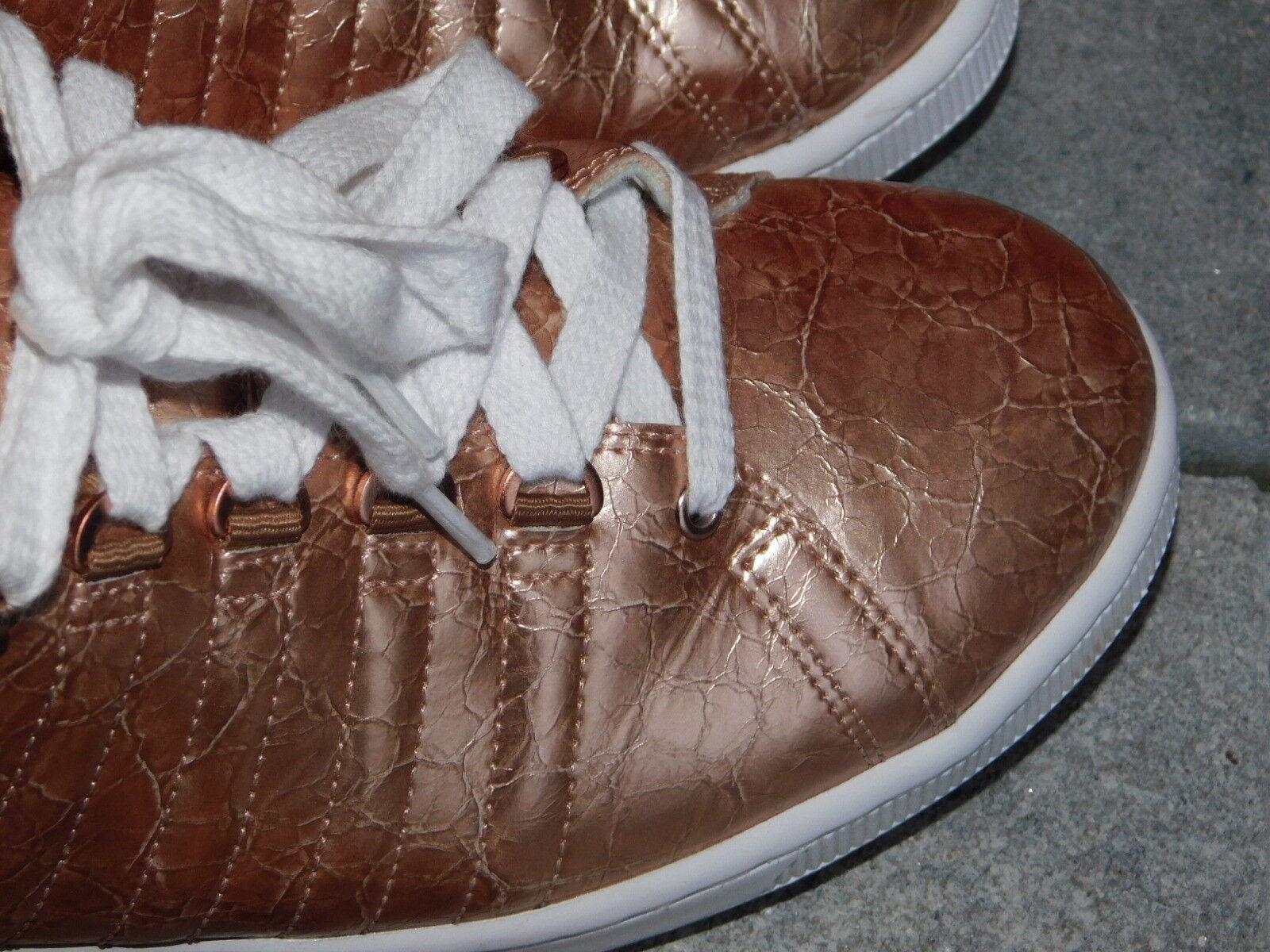 K-SWISS Lozan Aged Foil rose Oro zapatillaS us talla us zapatillaS 10 zapatos BRILLANT 68406f