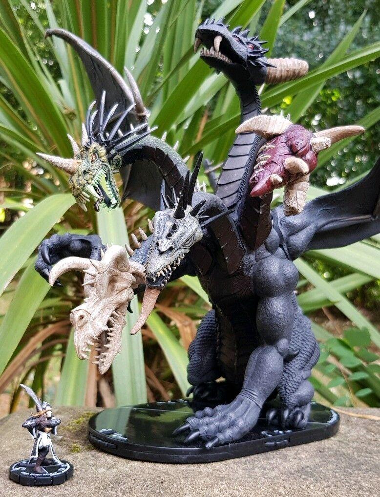 Mage Knight Apocalipsis dragón enorme y muy raro uso para Calabozos y Dragones D&D