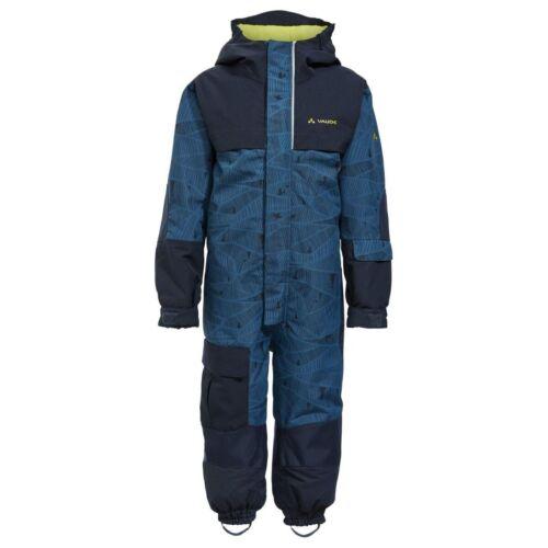 VAUDE Snow Cup Overall AOP Kinder Schneeanzug blau