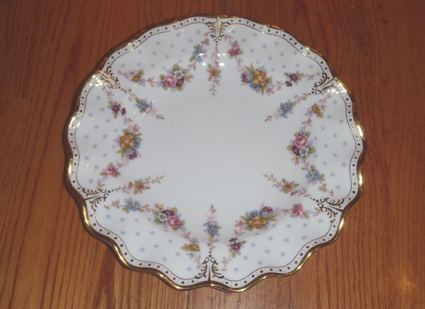 Royal Crown Derby  Royal Crown Derby ROYAL ANTOINETTE Dinner Plate NEW