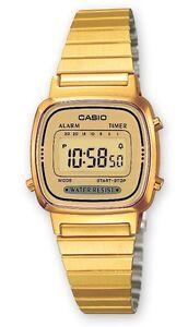 Casio-LA-670WEGA-9E-Orologio-Donna-polso-Vintage-Nuovo-Crono-Sveglia-Calendario