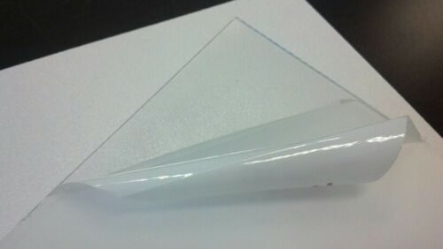 "PETG CLEAR PLASTIC SHEET 1//8/"" VACUUM FORMING RC BODY HOBBY YOU PICK SIZE ^"