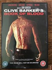 Sophie Ward, Jonas Armstrong BOOK OF BLOOD ~ 2009 Clive Barker Horror | UK DVD