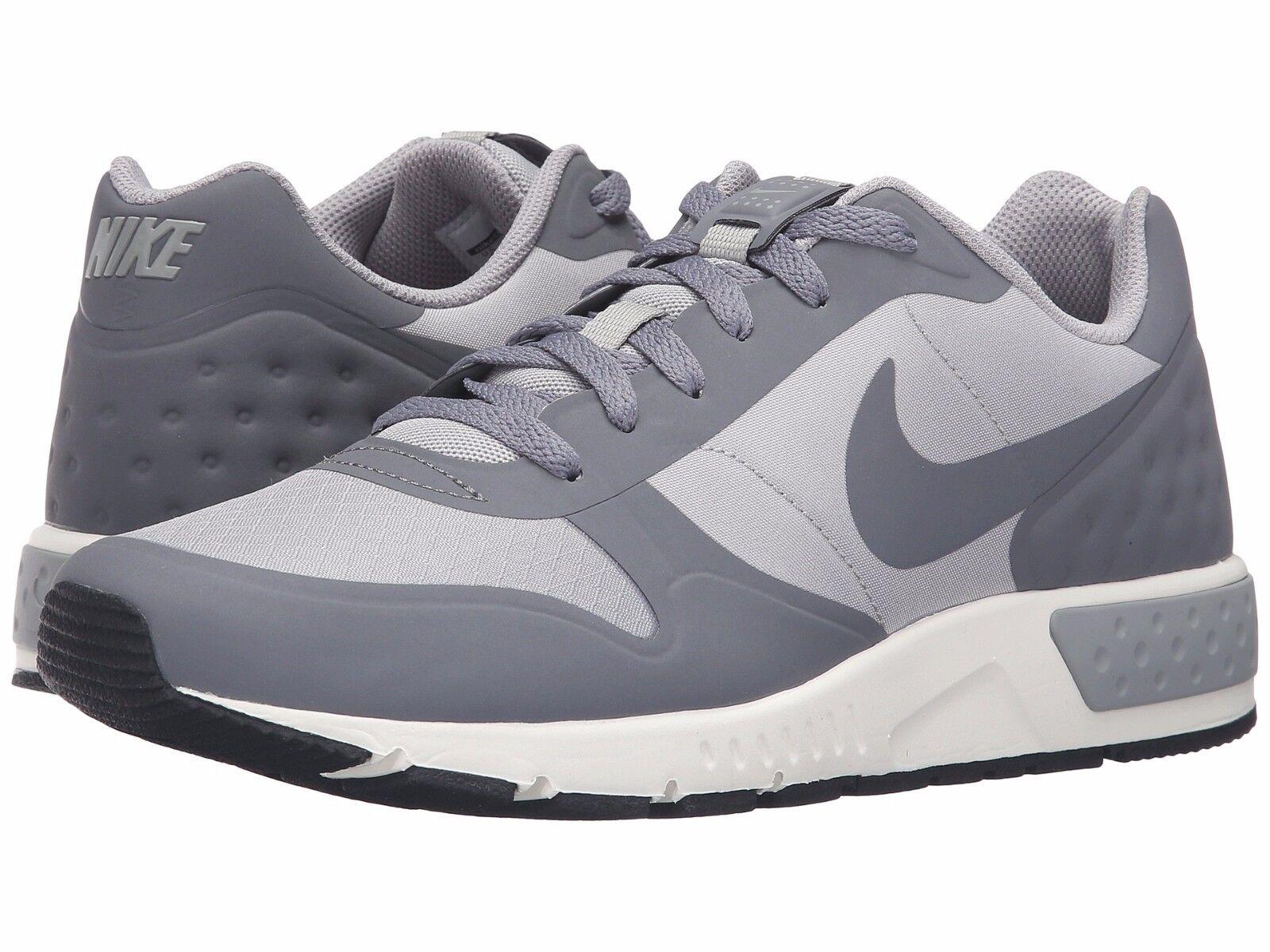 Nike Men's Nightgazer LW Lifestyle Shoes  Matte Silver-Sail-Cool Grey Size 10