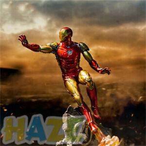 Avengers-Endgame-MK85-Iron-Man-1-10-PVC-Figura-Modelo-Juguete-26cm-en-caja