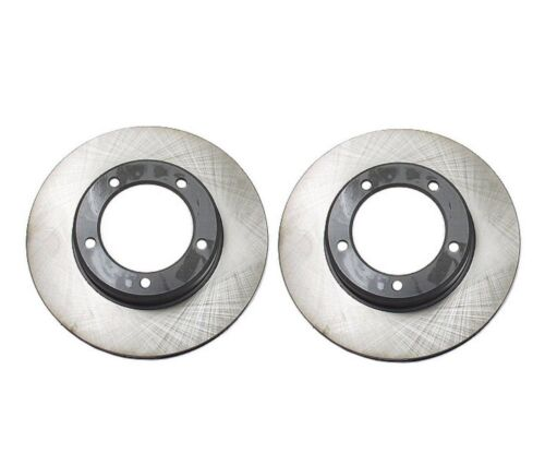 Set Of Two Front Brake Disc Rotors Genuine for Toyota Land Cruiser 1998-2007