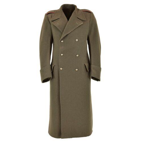 Armée Italienne hiver laine manteau militaire étanche Tissu carabiniers capote NEUF