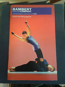RAMBERT DANCE COMPANY AUTUMN TOUR 2004 PROGRAMME - Wotton-under-Edge, United Kingdom - RAMBERT DANCE COMPANY AUTUMN TOUR 2004 PROGRAMME - Wotton-under-Edge, United Kingdom