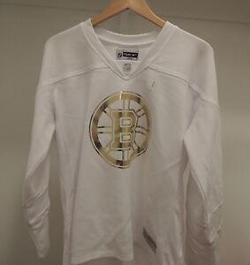 Image is loading NHL-REEBOK-Boston-Bruins-Fashion-Hockey-Jersey-New- 97ac296476
