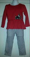 Fisher Price Outfit Kitten Cat 2 Piece Shirt & Pant Dressy Church Pageant