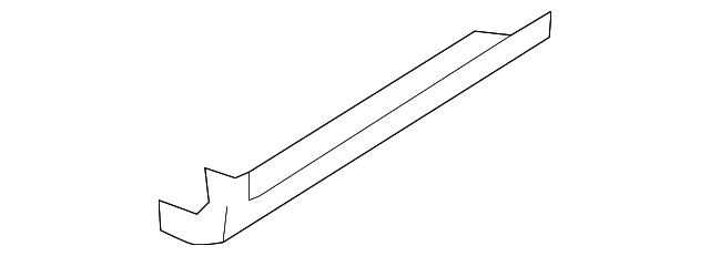 FORD OEM 09-14 F-150 Pick Up Box Bed-Lower Deflector Rivet W709346S300