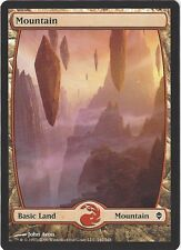 TCG MtG 174 Magic the Gathering Zendikar Full Art Land  Mountain/Gebirge