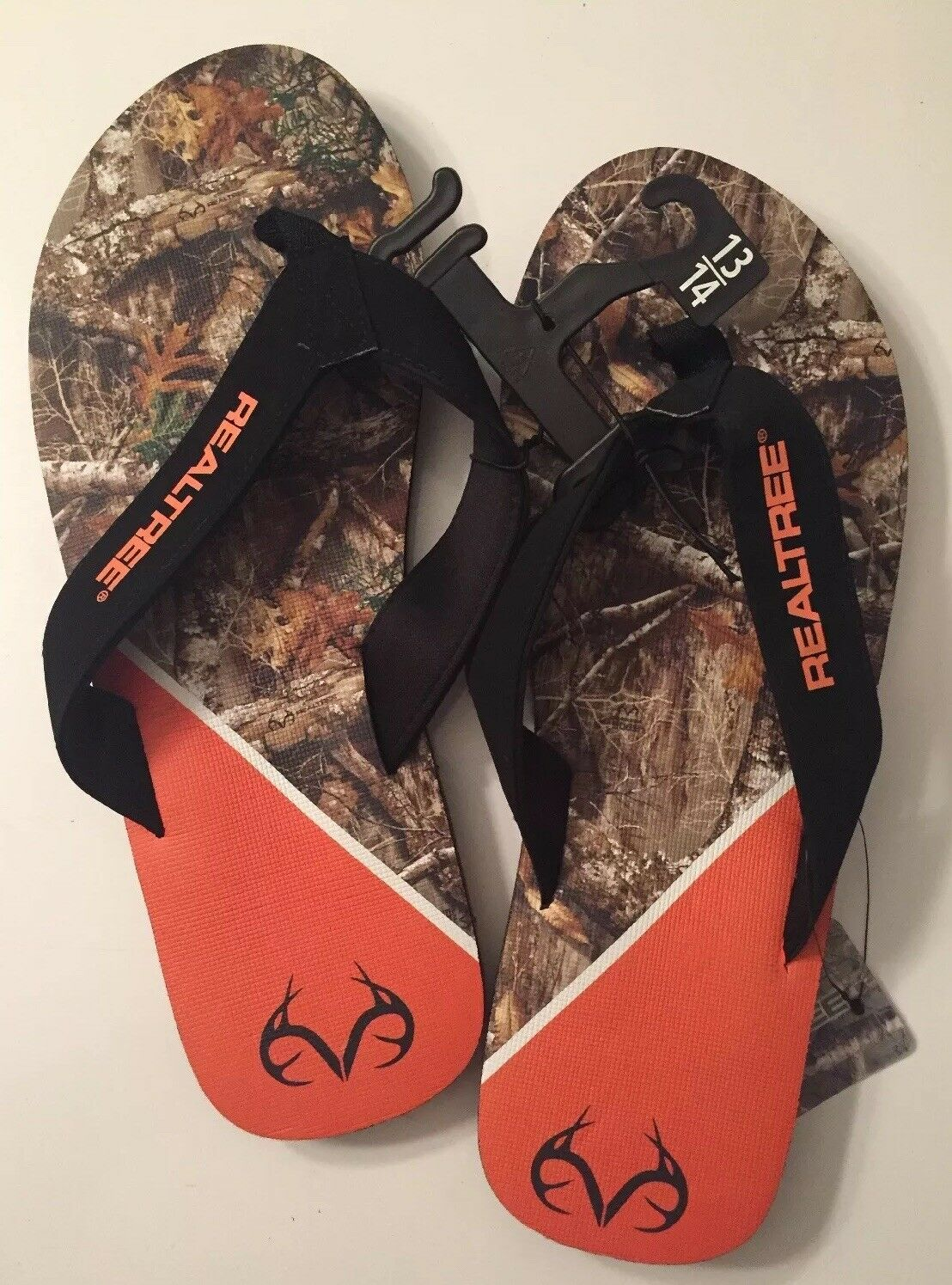 Realtree Size  Flip Flop Sandals Size Realtree 13-14 ed5a6c
