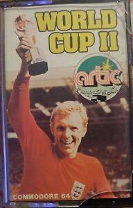 World Cup II (Artic) C 64 Cassette (Tape) (Game, Box, Manual) Classic-Game - Bruchsal, Deutschland - World Cup II (Artic) C 64 Cassette (Tape) (Game, Box, Manual) Classic-Game - Bruchsal, Deutschland