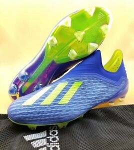 hot sale online 17976 89ce5 Image is loading Adidas-X-18-FG-Laceless-Men-Soccer-Cleats-