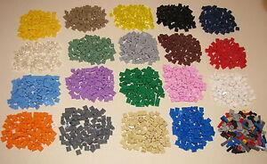 LEGO-COLORED-1-X-1-DOT-PLATES-PIECES-BRICKS-BUILDING-BLOCKS-YOU-PICK-100-PER-LOT