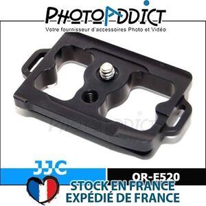 JJC-QR-E520-Plateau-rapide-compatible-Arca-Swiss-pour-Olympus-E520