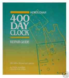 New-Horolovar-400-Day-Clock-Repair-Guide-by-Charles-Torwilliger-10th-Edition