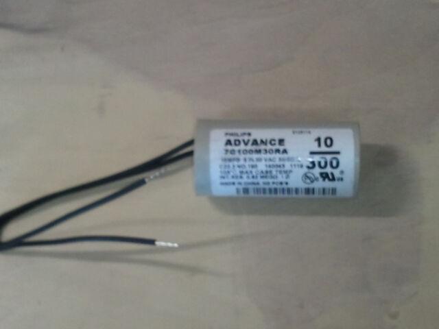PHILIPS ADVANCE 7C360M12RA DRY FILM HID CAPACITOR 36MFD 120V E145088