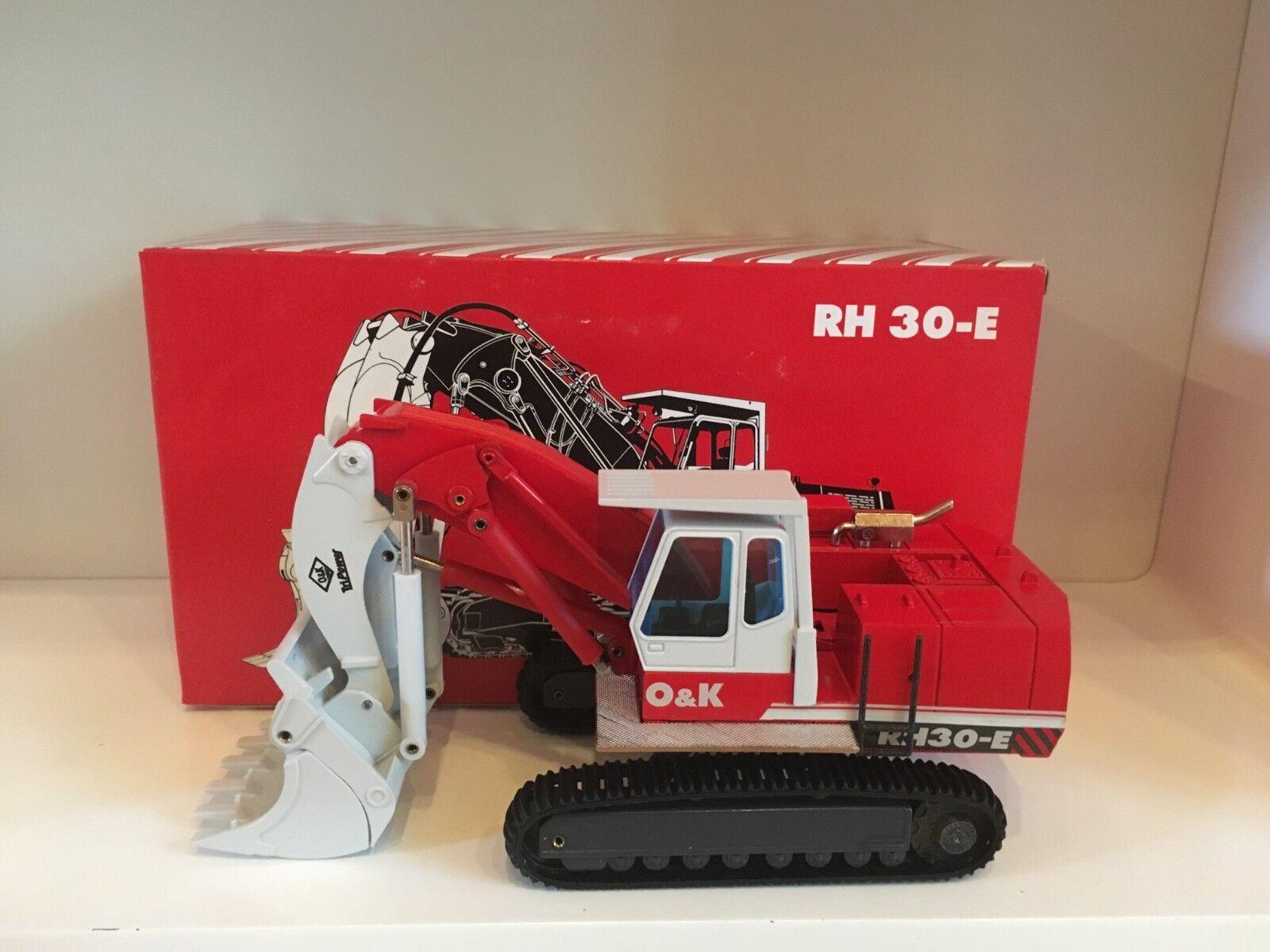 O&K RH 30 E Kettenbagger von NZG 412 in 1 50 OVP  | Maßstab ist der Grundstein, Qualität ist Säulenbalken, Preis ist Leiter