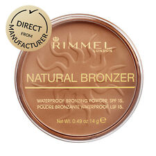 Rimmel London Pressed Bronzer Waterproof Face Powder Natural - Various colours