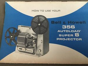 Details about Original Instruction Manual for Bell & Howell 356 Autoload  Super 8 Projector