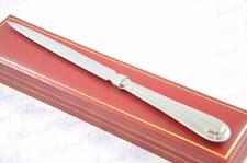 BRAND NEW SHEFFIELD STEEL BEAD PATTERN LETTER OPENER/PAPER KNIFE CASED