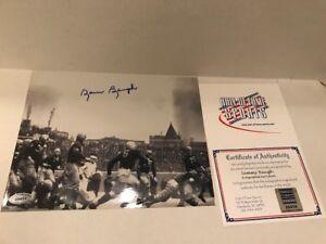 Sammy Baugh Signed Washington Redskins 8x10 Photo COA and Hologram HOF Sports