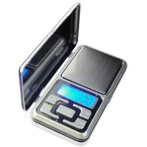 Pocket Digital Scales Jewellery Gold Weighing Mini LCD Electronic 0.1g 500g 5060151758156