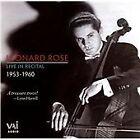 Leonard Rose Live in Recital, 1953-1960 (2007)