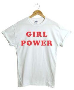 Girl Power Future is Female Feminist T-Shirt Flower Top Fashion Gift GP,TSHIRT