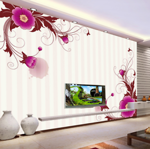 3D Striped Cute Lace 7 Wall Paper Murals Wall Print Wall Wallpaper Mural AU Kyra