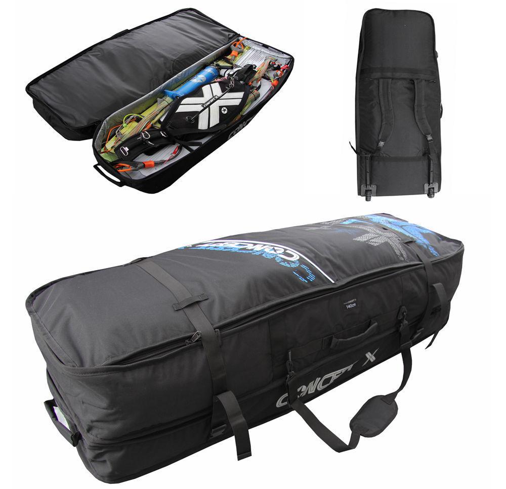Kitebag con ruedas, maxi 170, Kiteboard, kite Bag bolso valija flugtau