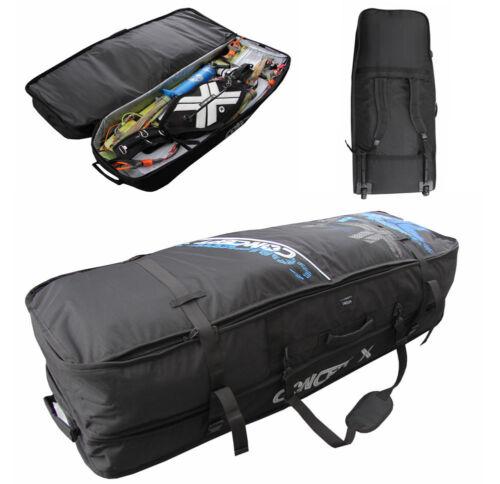 Kitebag Flugtauglich 144 x 48 cm Maße innen Kiteboard Kite Bag mit Rollen