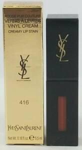 Ysl Yves Saint Laurent Vinyl Cream Lip Stain 416