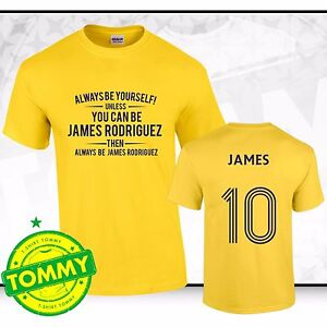 online retailer ff8c3 3c3a6 Details about Columbia Shirt Always Be James Rodriguez Fan T-Shirt Bayern  Columbia tshirt