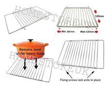 Cromo Ajustable Horno Estante Extensible Cocina Parrilla salvamanteles Refrigeración Bandeja 0592