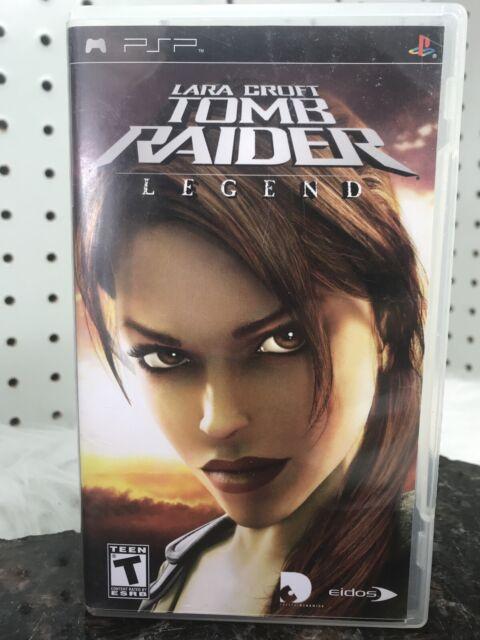 Tomb Raider Legend Psp Playstation Portable For Sale Online Ebay