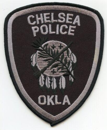 CHELSEA OKLAHOMA OK POLICE PATCH