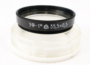 NEU-Russische-UV-uv-1x-Objektiv-Filter-35-5mm-Smena-8m-Industar-50-2-28