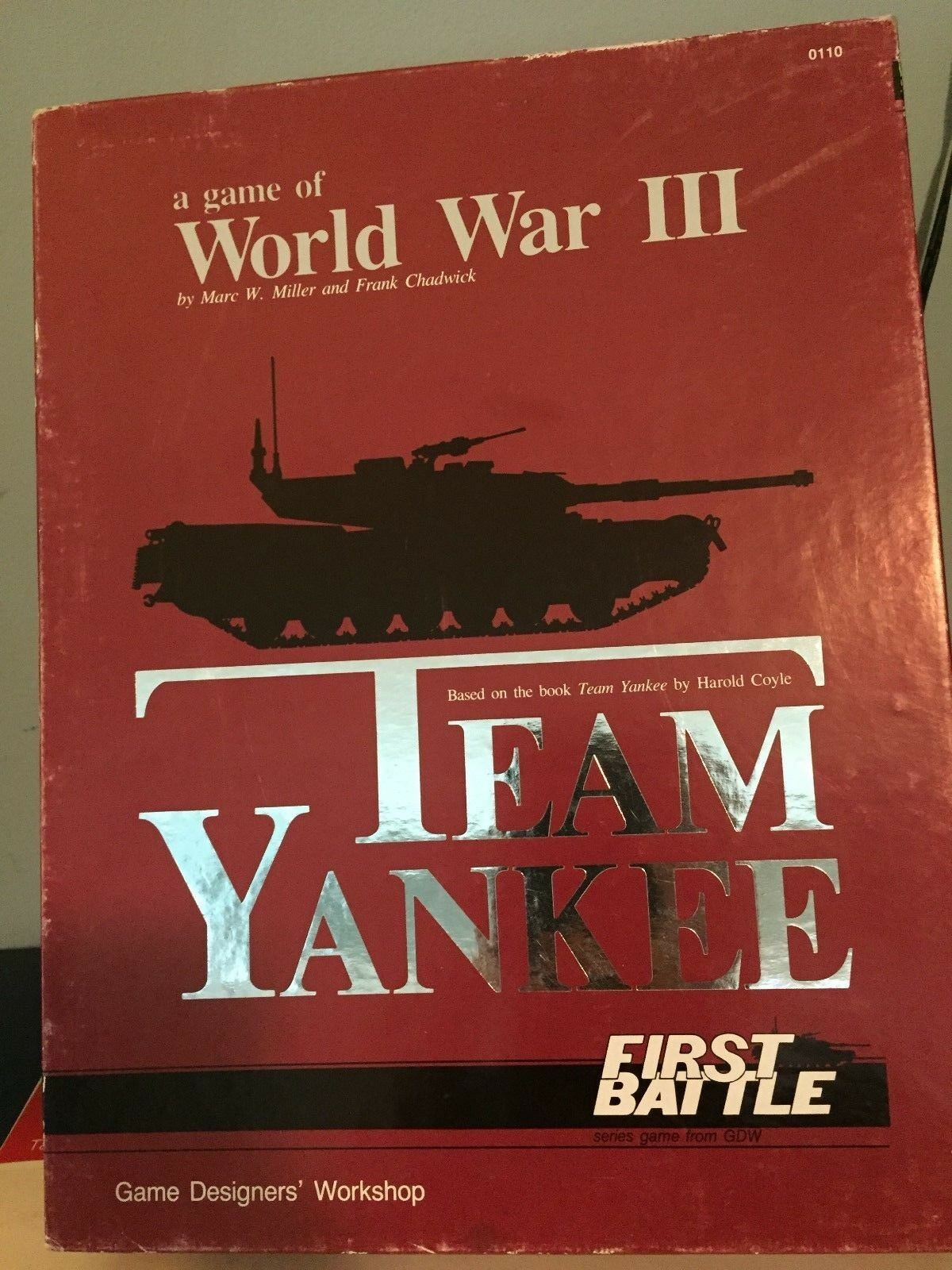 1987 WORLD WAR III TEAM YANKEE FIRST BATTLE GDW COMPLETE WAR GAME