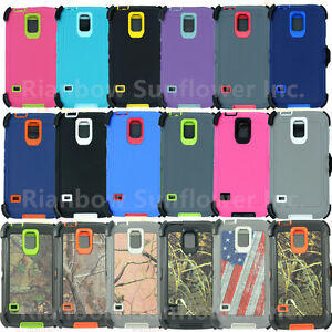 For-Samsung-Galaxy-S5-Case-Cover-with-Screen-Belt-Clip-fits-Otterbox-Defender