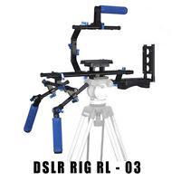 Professional Video / Dslr Camera Rl-03 Rig , 3 Grips Rl03 Stabilizer Digital