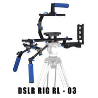 Professional Video / Dslr Camera Rl-03 Rig , 3 Grips Rl03 Stabilizer Digital