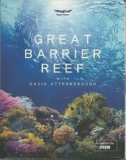 GREAT BARRIER REEF WITH DAVID ATTENBOROUGH - BLU RAY DISC - AS SEEN ON THE BBC