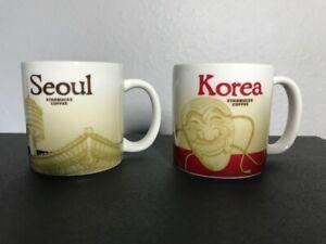 Starbucks Coffee Seoul And Korea Global Icons Collector Series Demitasse Mug Cup Ebay