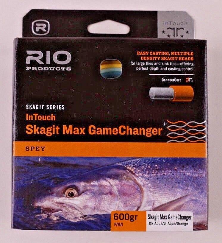 Rio Skagit Max  Juegochanger disparo cabeza 600 F H I Envío Gratis Rápido 6-19120  tienda
