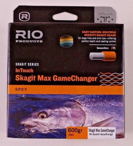 Rio Skagit Max GameChanger Shooting Head 600 F//H//I FREE FAST SHIPPING 6-19120