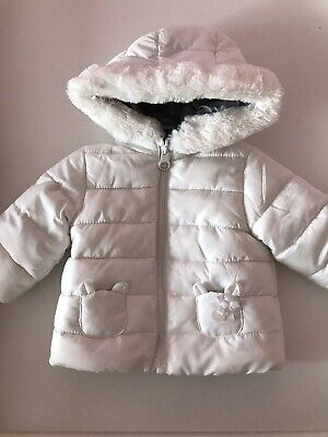 Boys Coat Toddler 1986 Motif Fishtail Anorak Parka Newborn Baby to 24 Months